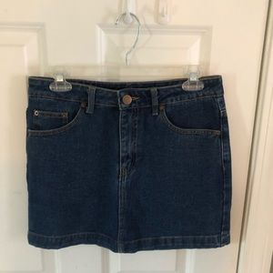 Denim Skirt - Forever 21 Size Medium